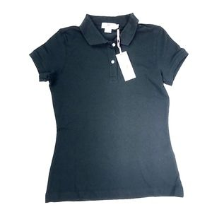 Vineyard Vines | Black Solid Susie Fit Polo NEW